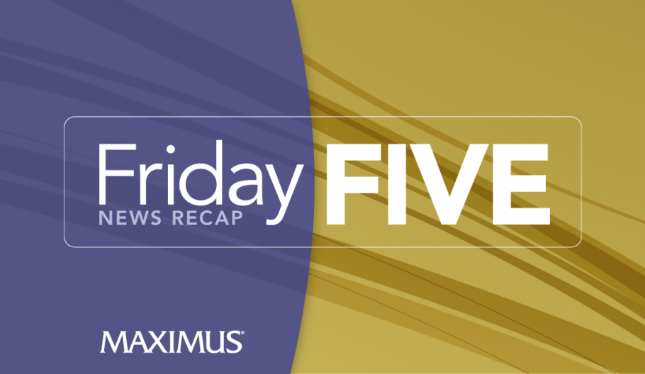 Friday Five: As healthcare costs continue to rise, government and large employers look to contain costs