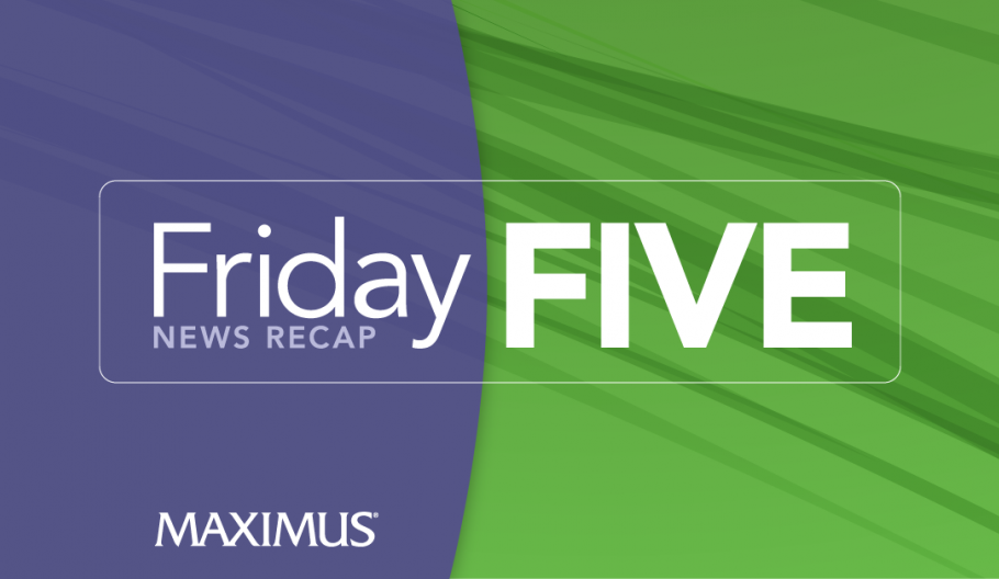 Friday Five: Child enrollment drops for Medicaid and CHIP, but states can take action to help