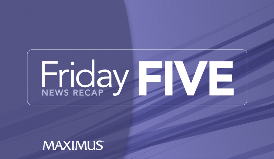 Friday Five: Medicaid expansion linked to reduced deaths from substance abuse