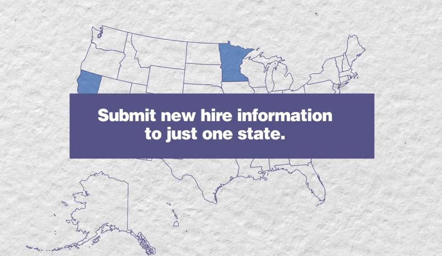 One-stop new hire reporting when hiring employees in multiple states