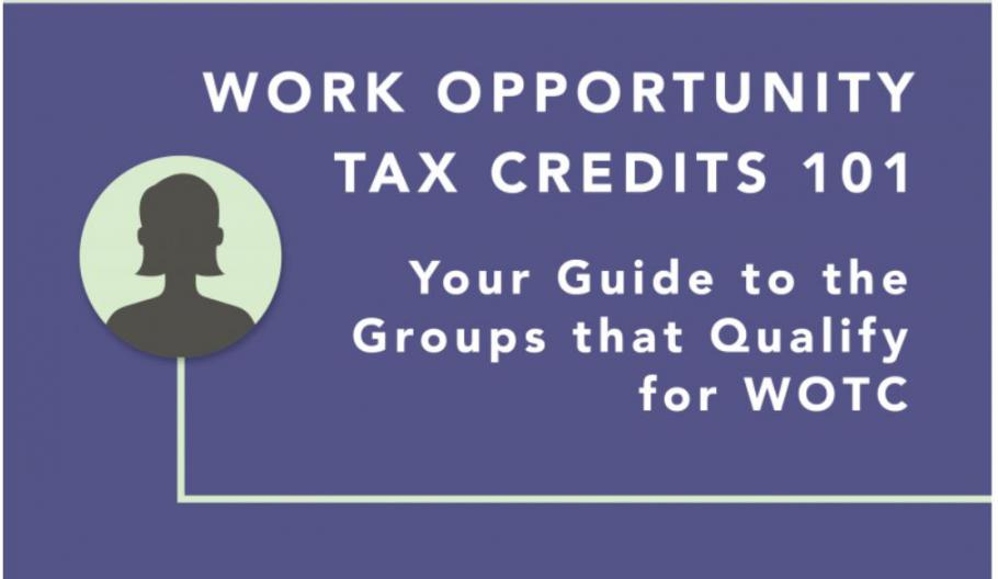 Helping employers maximize tax credits by hiring from target populations
