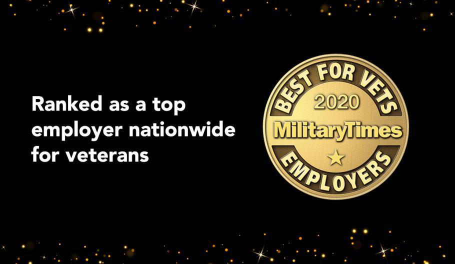Maximus Recognized by Military Times as a Top Employer for Veterans